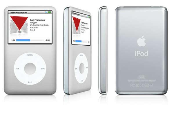iPod classic white