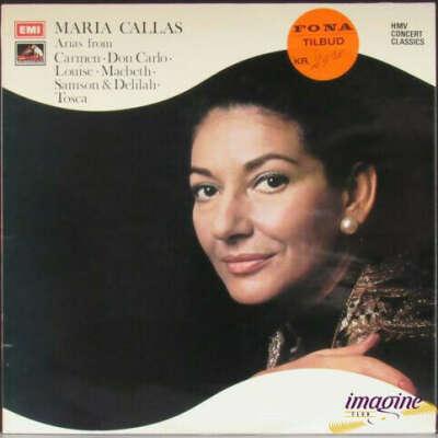 Виниловая пластинка Maria Callas