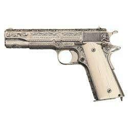 Engraved Colt Model 1911