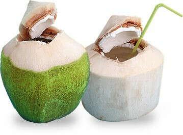 Попробовать свежий кокос