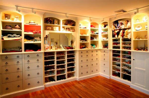 Big cozy wardrobe