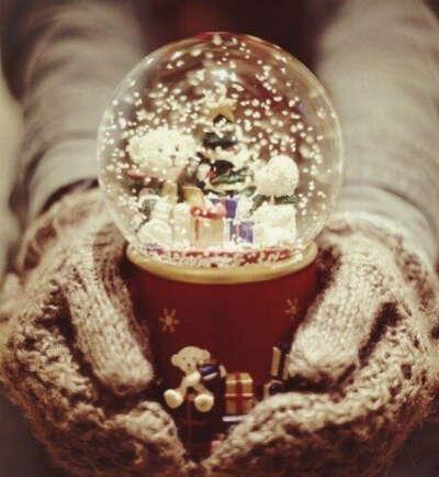 Зимний шар на Новый год