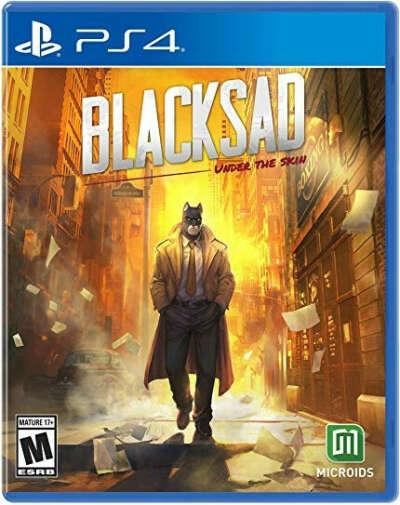 Blacksad: Under the skin ps4/pc/switch