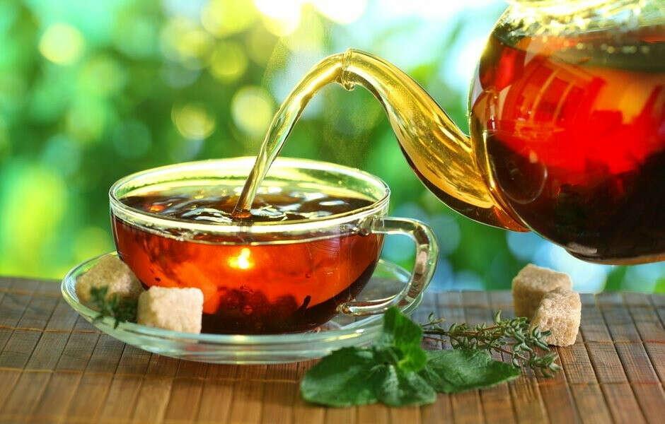 """Чай и кофе из """"Кантаты"""""""
