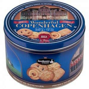 Печенье в жестяной коробке