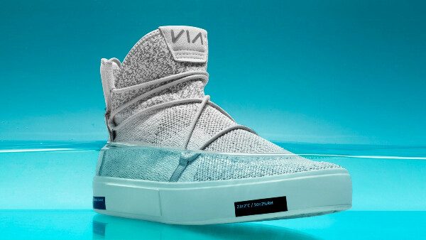 VIA | The Waterproof Knit Shoes Made from Ocean Plastic