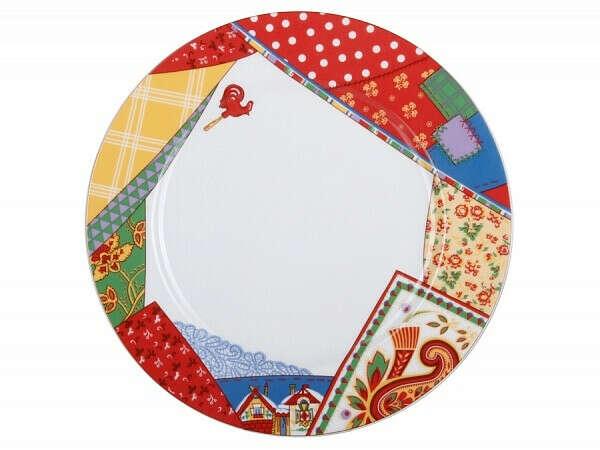 Тарелка 250 форма Европейская-2 рисунок Масленица арт. 80.86104.00.1