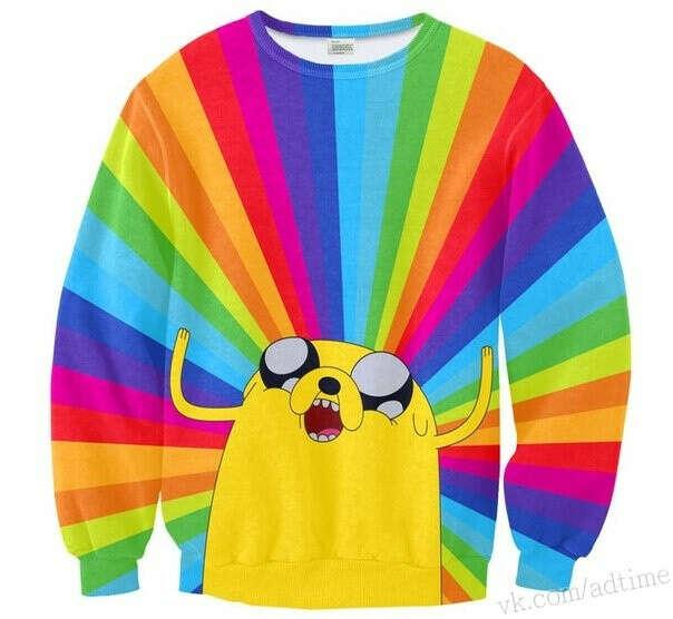 Свитшот Adventure time