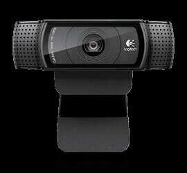 Logitech® HD Pro Webcam C920