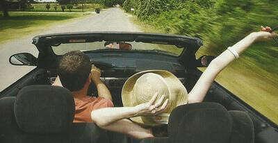 В путешествие на машине