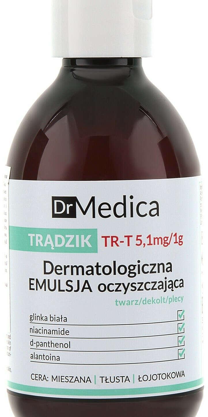 Дерматологическая очищающая эмульсия анти-акне Bielenda Dr Medica Acne Dermatological Cleansing Emulsion For Face, Cleavage, Back