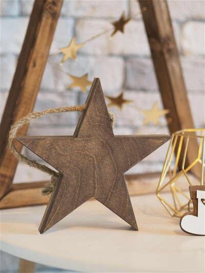 Декоративная Звезда Wooddy