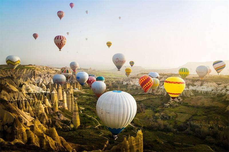 Фестиваль воздушных шаров в Каппадокии