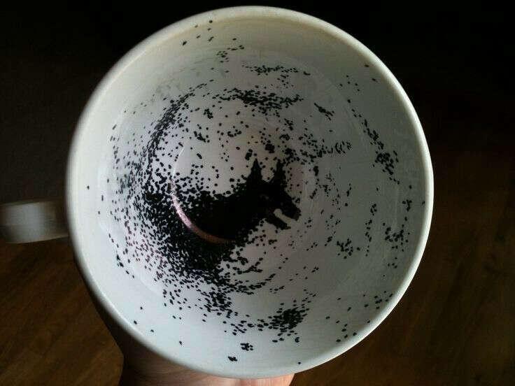 Чашка с Гримом // Гарри Поттер