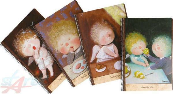 блокнотики с рисунками Гапчинской
