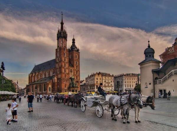 Хочу в Краков, Польша