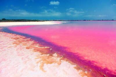 Увидеть Озеро Ретба,  Сенегал