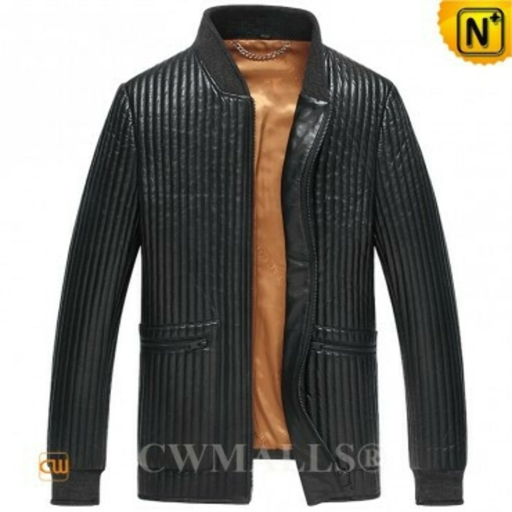 CWMALLS® Designer Quilted Motocycle Jacket CW806011