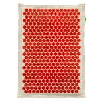 Большой массажный коврик 41х60 см красный - ООО «Лаборатория Кузнецова»