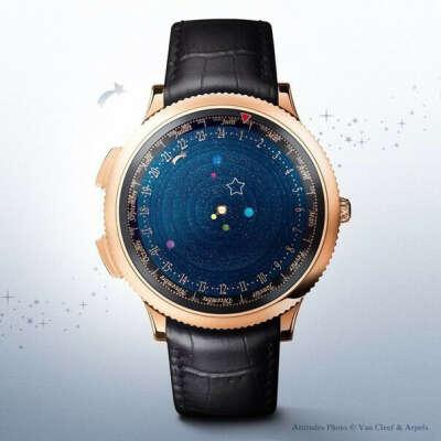 Часы созданные Van Cleef & Arpels