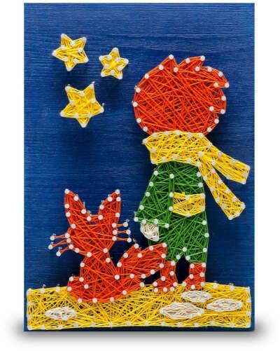 Набор для создания картины String Art Lab Маленький принц