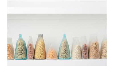 Набор силиконовый контейнеров для хранения продуктов
