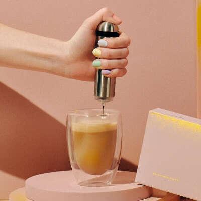 Взбивалка для кофе с молоком
