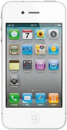Смартфон APPLE iPhone 4S 8Gb White – интернет-магазин Эльдорадо