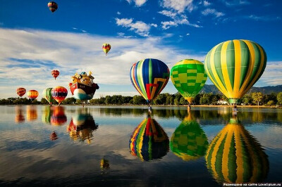 Полет на воздушном шаре или дирижабле