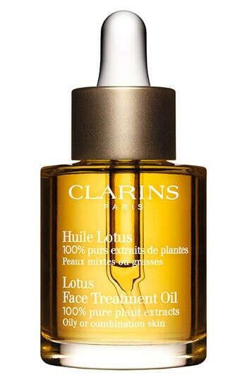 Clarins лотос масло