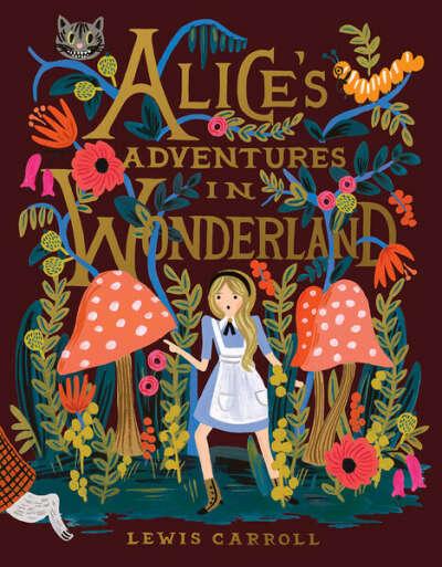 """Книга """"Alice's Adventures in Wonderland"""" от Riflepaperco"""