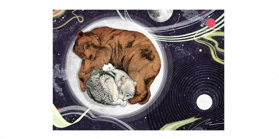 Постер Sandra Dieckmann Moon А3 – купить в интернет-магазине StoryStore