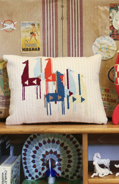 Kit Coussin We are knitters