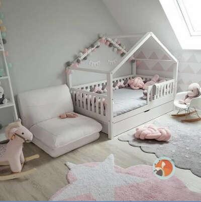 Детская кровать как домик