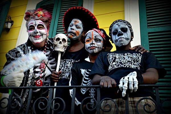 Маскарад на День Мертвых. Мексика