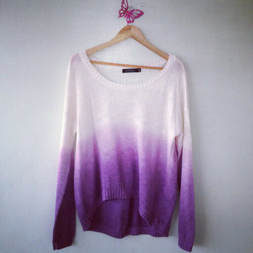 свитер-омбре