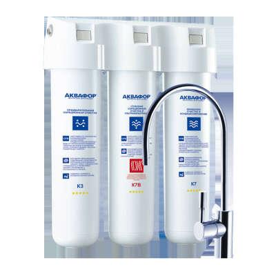 Фильтр для очистки питьевой воды Аквафор Кристалл Эко