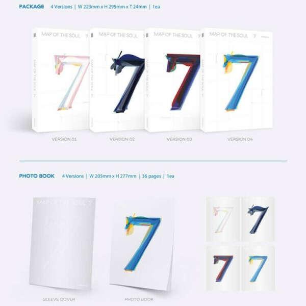 Альбом BTS Map Of The Soul 7 (все версии)