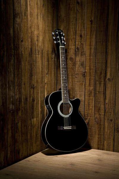 Fender cd-60ce dreadnought BLACK