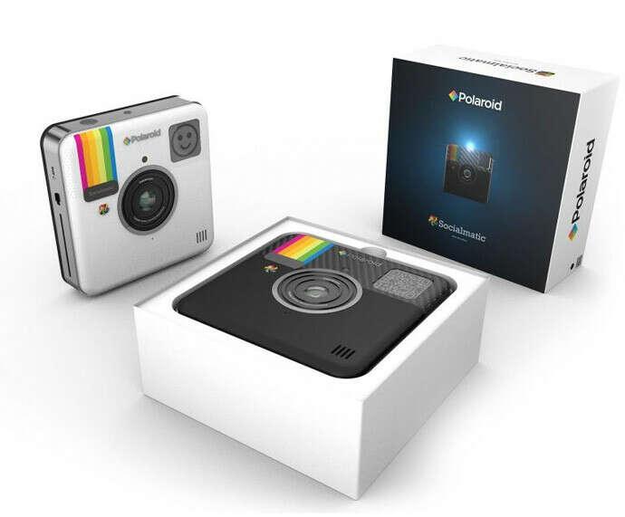 Камера Polaroid Socialmatic выйдет в начале 2014 года