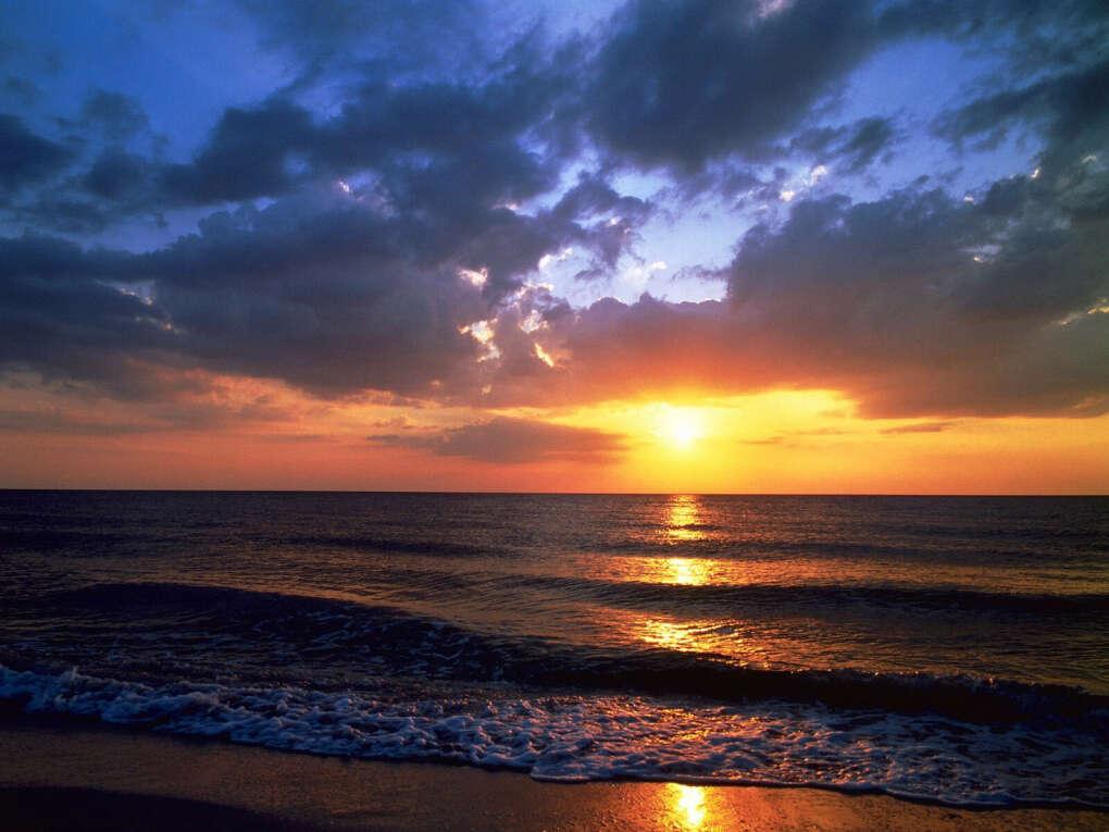 Встретить закат на берегу