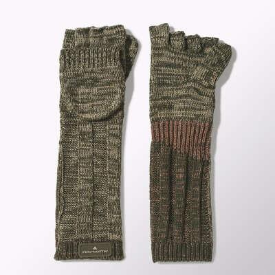 Удлиненные перчатки-варежки