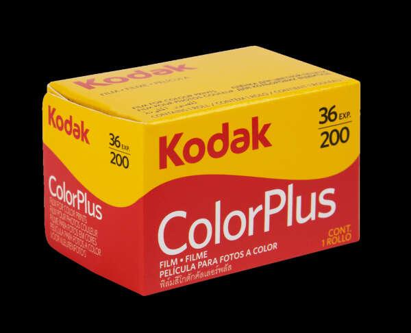 фотопленка 35мм Kodak Color Plus 200 (135/36) цветная негативная