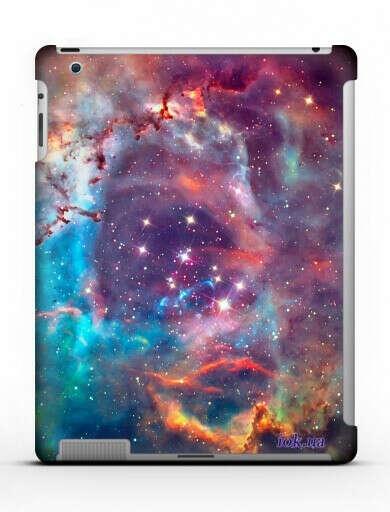 """Накладка на заднюю крышку """"Космос""""для iPad 2"""