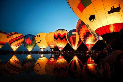 Побывать на фестивале воздушных шаров
