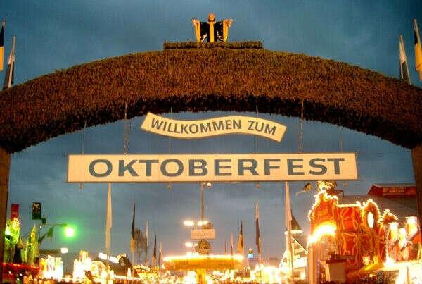 Попасть на октоберфест в Германию