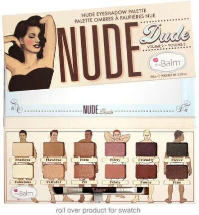 Палетка теней Nude Dude- The Balm (Балм) купить в интернет-магазине