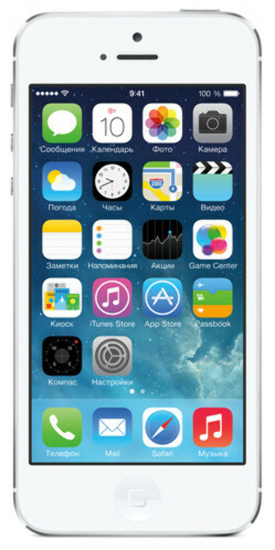 Смартфон APPLE iPhone 5 16Gb White