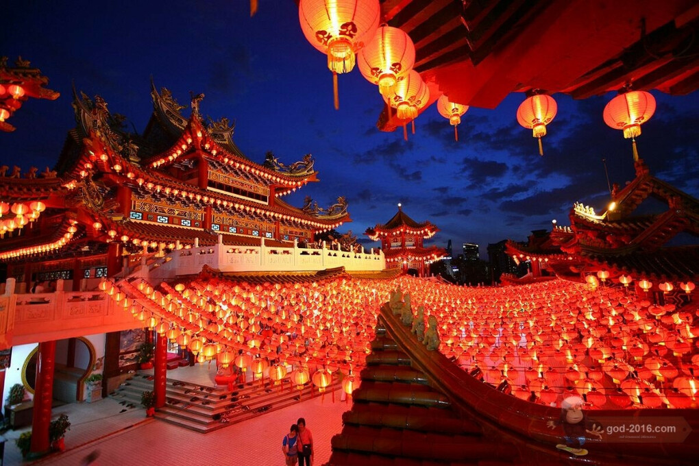 Уехать в Китай на Китайский Новый Год