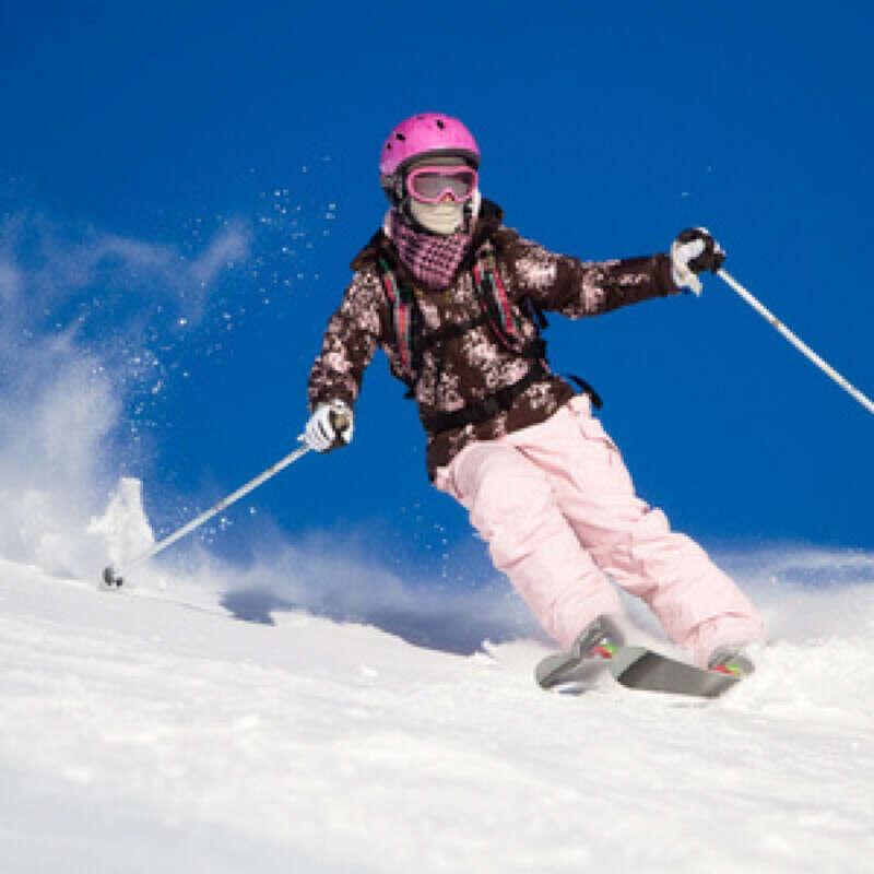 Покататься на лыжа